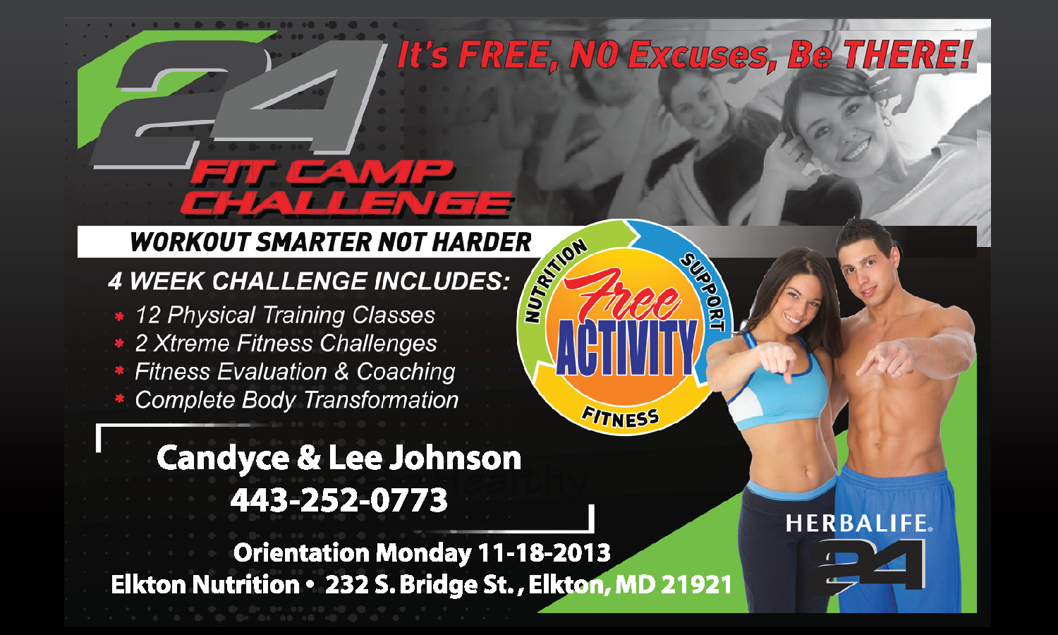 Herbalife Flyer Template 3 Day Challenge Tradinghub Co