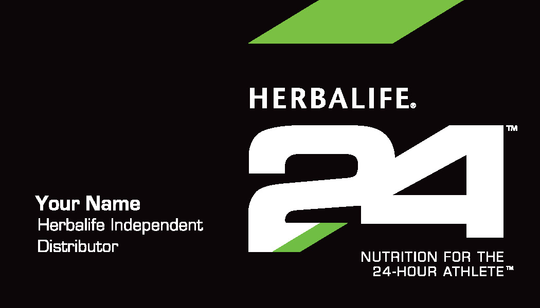 Herbalife Nutrition Club Supplies - 2 sided business card template