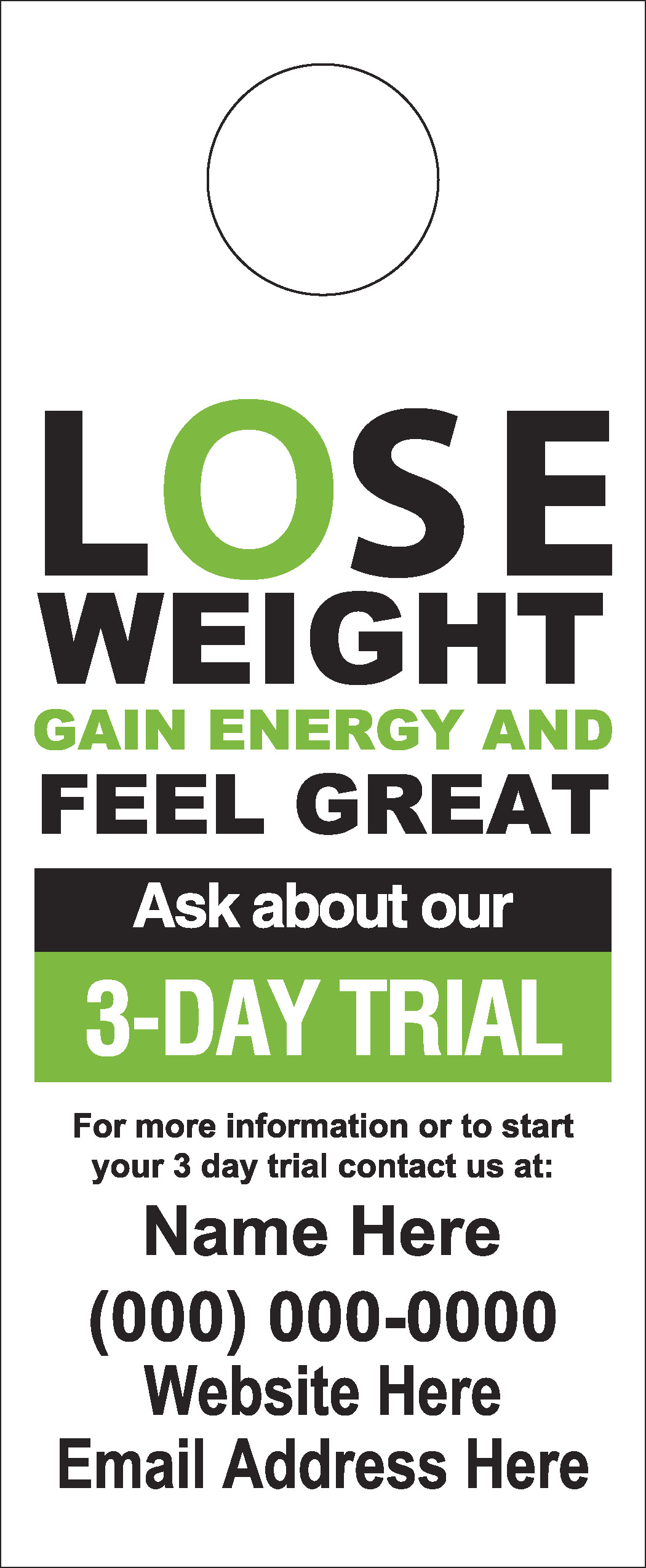 lose weight feel great