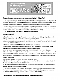 3 Day Trial Pack Instructions