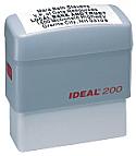Medium Self Inking Rubber Stamp
