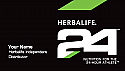Herbalife 2 sided solid front 24 Business Card