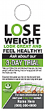 3 Day Trial Lose Weight Look Great Door Hanger with shake images