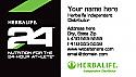 Herbalife 24 Business Card