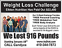 Weight Loss Challenge Postcard